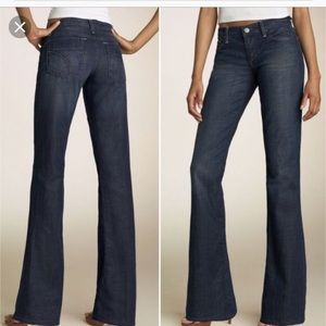 Joe's Jeans Bootcut Dark Denim Jeans 27 The Rocker